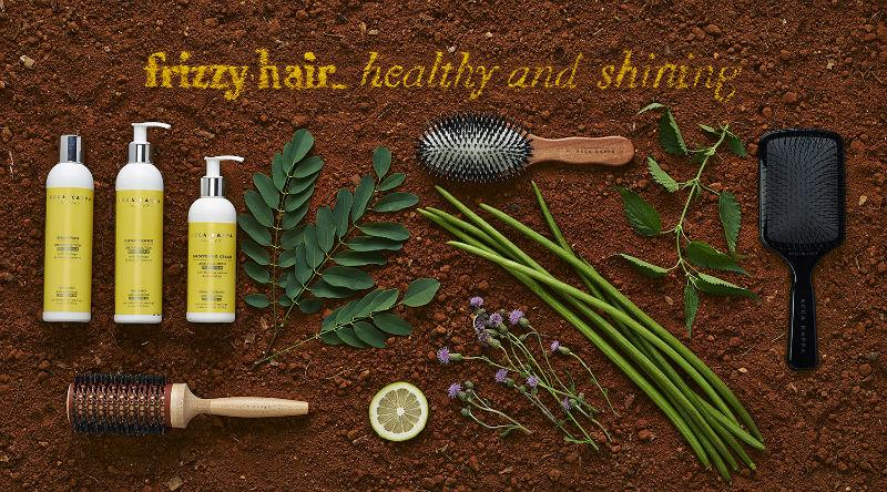 The Frizzy Hair Care Range Products and Brushes