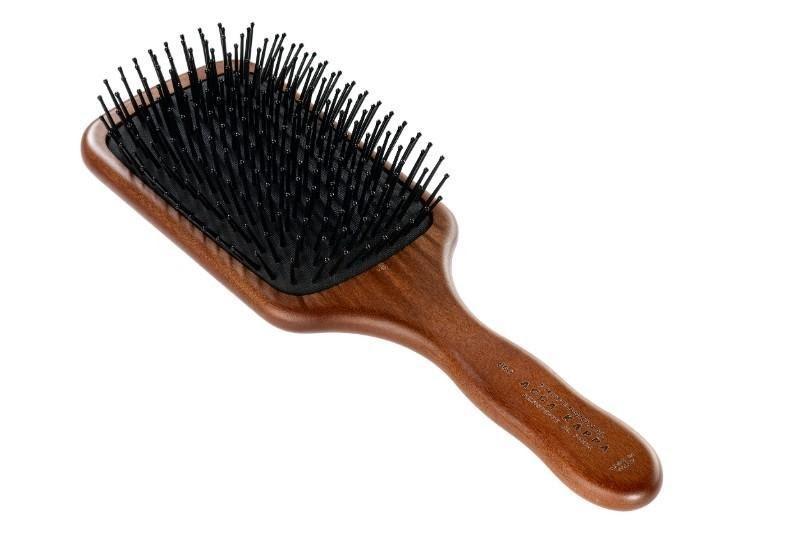 The Pneumatic Kotibe Wood Pom Pin Paddle Brush by ACCA KAPPA