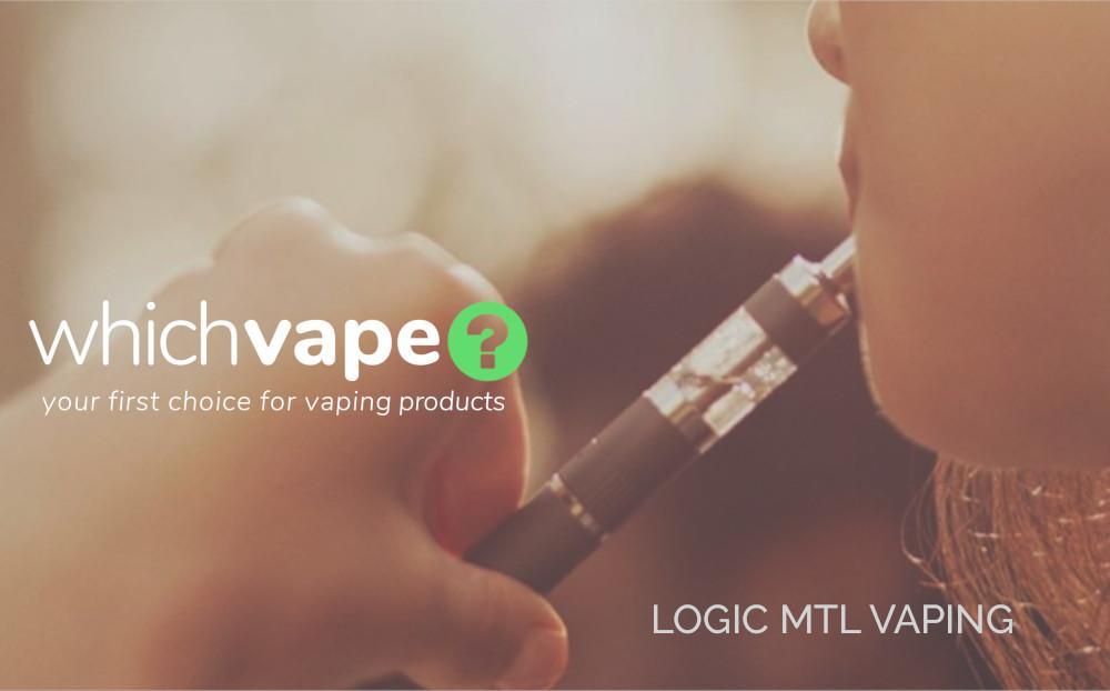 Logic MTL vaping kits from Which Vape Ltd