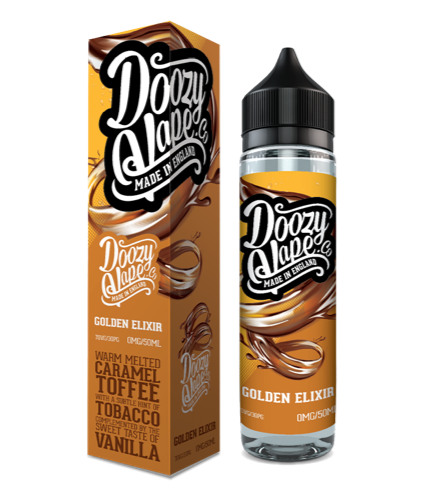 Doozy Vape Co Golden Elixir E-Liquid 50ml