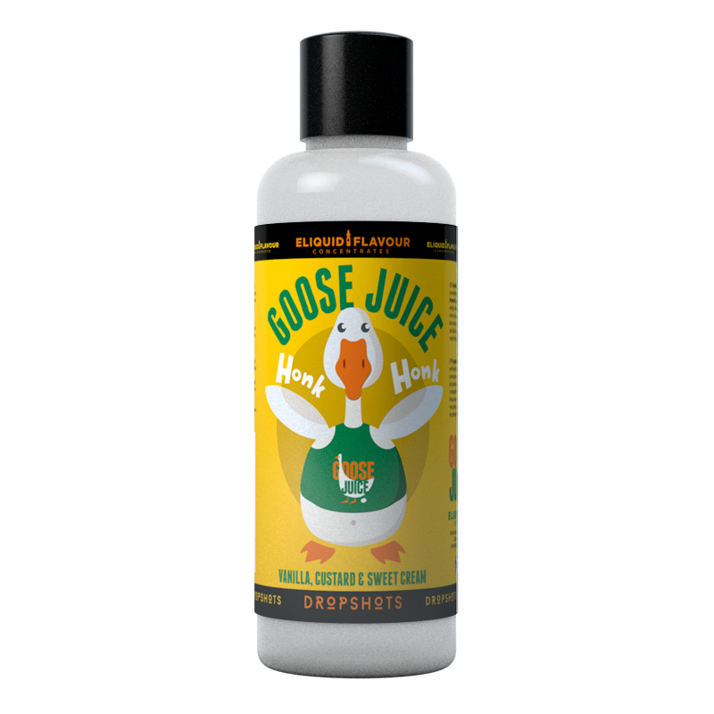 Goose Juice custard and vanilla flavour concentrate for DIY vape liquids