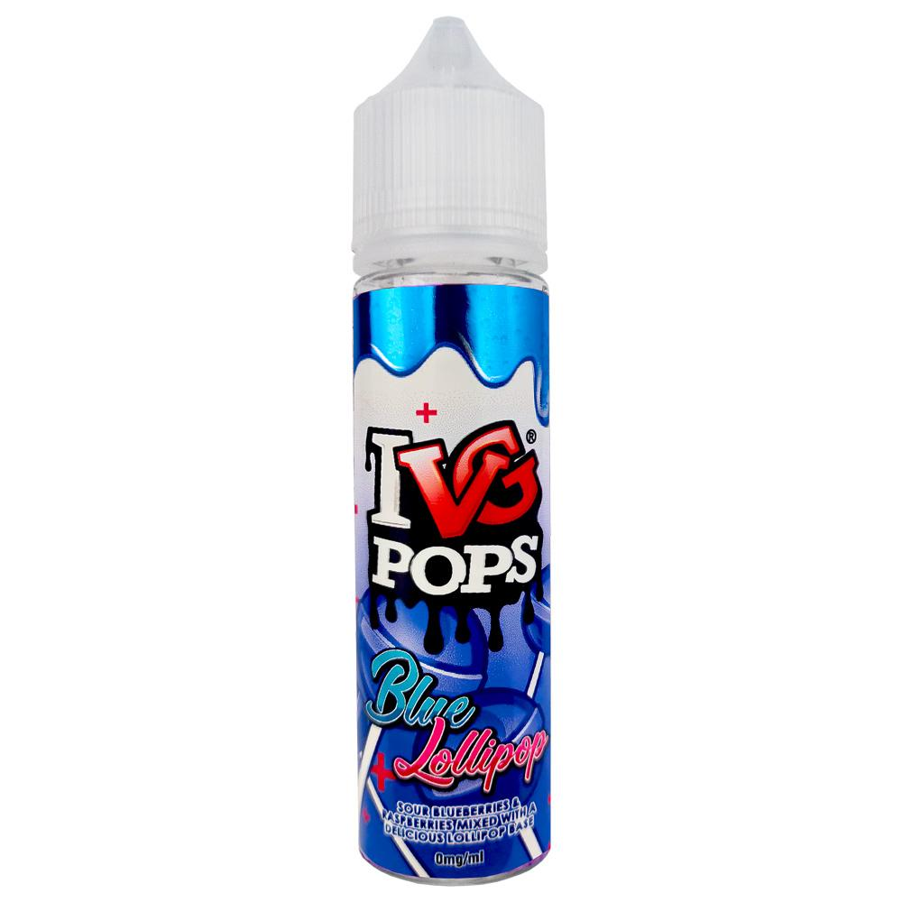 IVG E-Liquid Pops Blue Lollipop 0mg 50ml