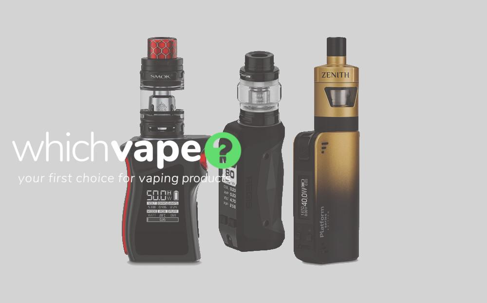 Buy advanced vape kits and mods from Which Vape Ltd