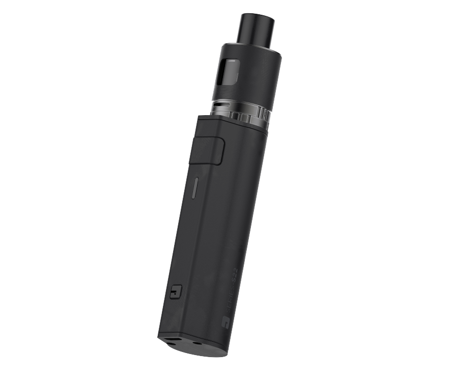 Jac Vapour S22 Vape PVD matt black edition side view