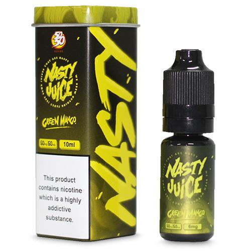 Nasty Juice 50:50 Green Mango flavoured e-liquid from Which Vape Ltd