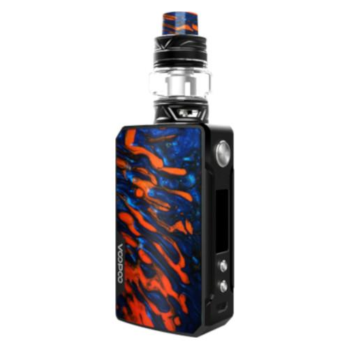 Voopoo Drag 2 advanced vape kit with Uforce T2 tank available in Flame colour from Which Vape Ltd