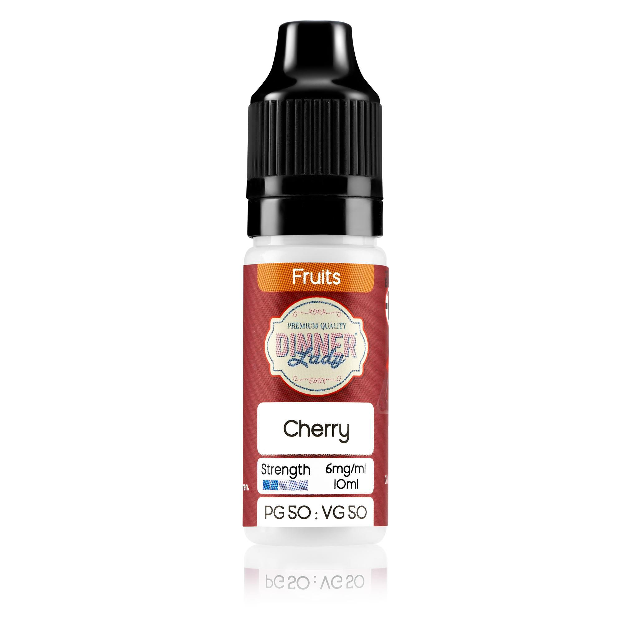 Dinner Lady 50:50 10ml Cherry flavoured e-liquid - Bottle