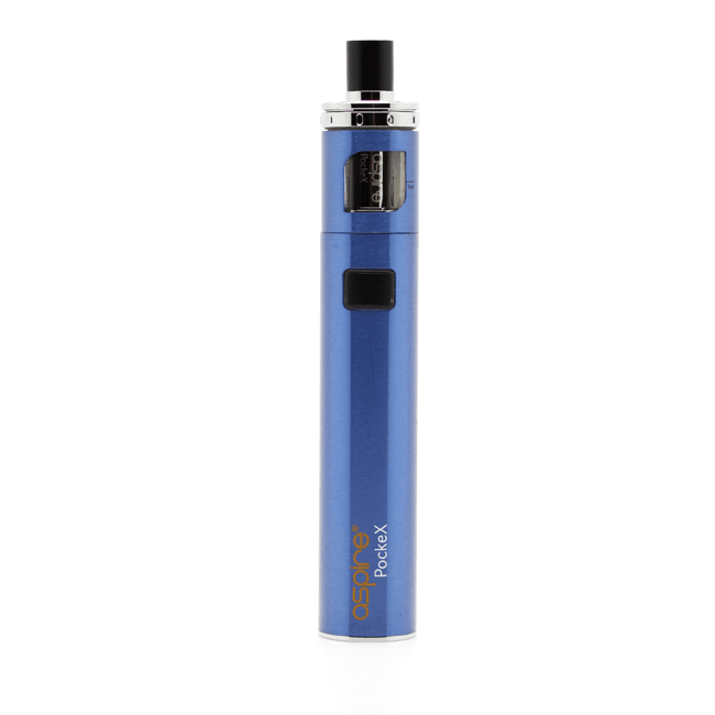 Aspire PockeX AIO in blue available from Which Vape Ltd