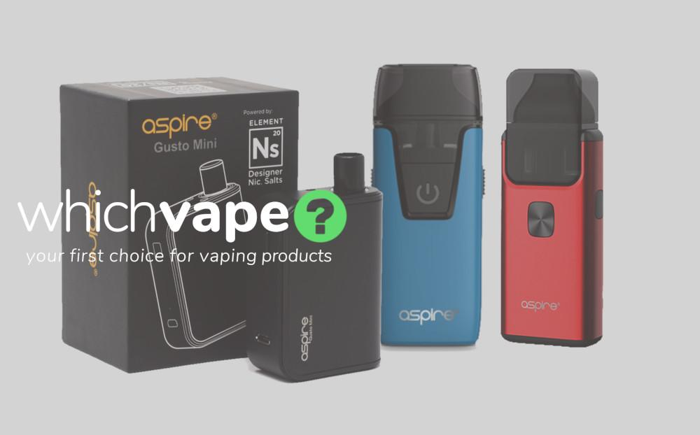 Buy AIO vape kits from Which Vape Ltd