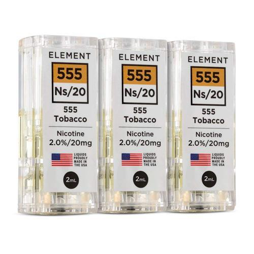 NS20 555 Tobacco 2.0% - 3pk Pods