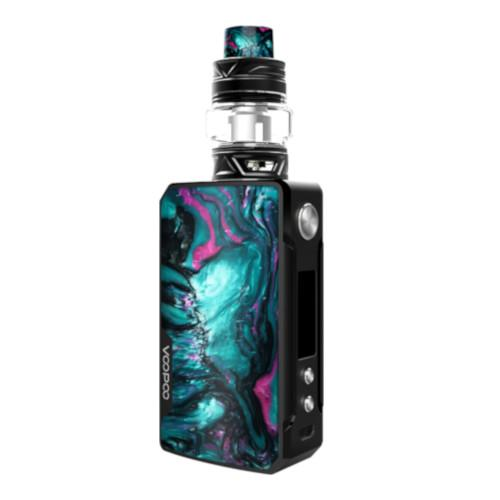 Voopoo Drag 2 advanced vape kit with Uforce T2 tank available in Aurora colour from Which Vape Ltd