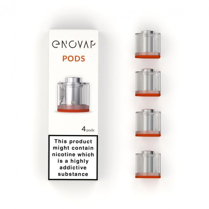 Enovap Smart E-cigarette Replacement Pods - 4 pack
