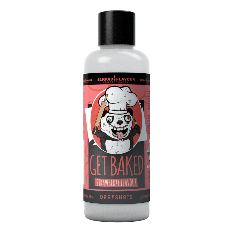 Get Baked Strawberry flavoured concentrate for DIY e-liquids