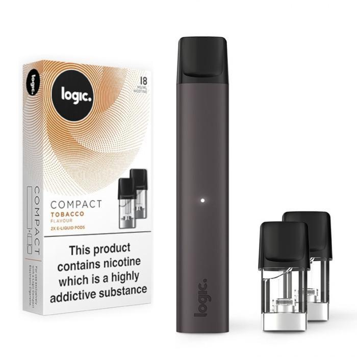 Logic Compact vape stick with two extra pods