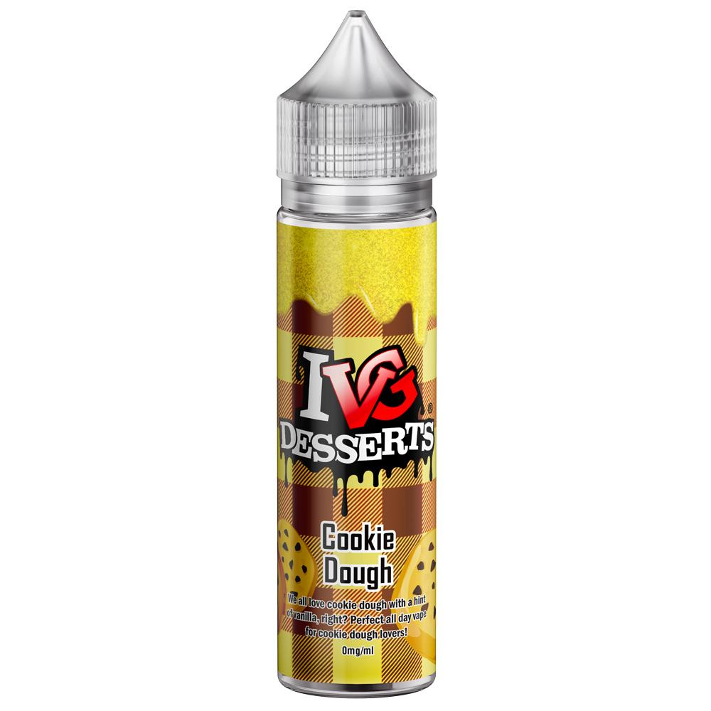 IVG E-Liquid Desserts Cookie Dough 0mg 50ml