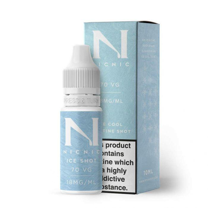 Nic Nic Nicotine 70VG ICE Shot 18mg 10ml