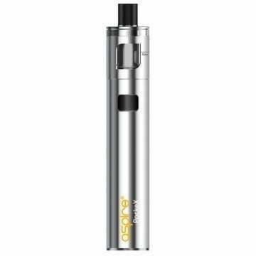 Aspire PockeX AIO in stainless available from Which Vape Ltd