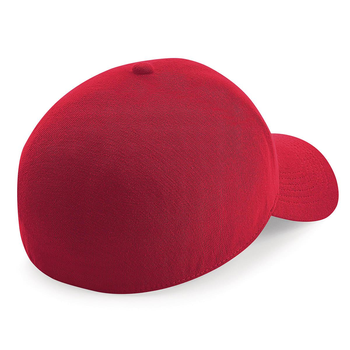 Beechfield Seamless Waterproof Cap in Red (Product Code: B550)