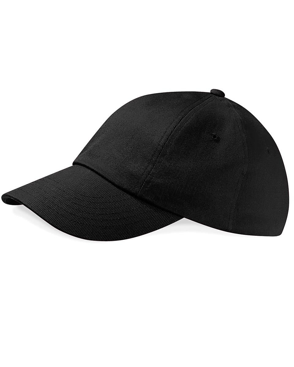 Beechfield Low Profile Heavy Drill Cap in Black (Product Code: B58)