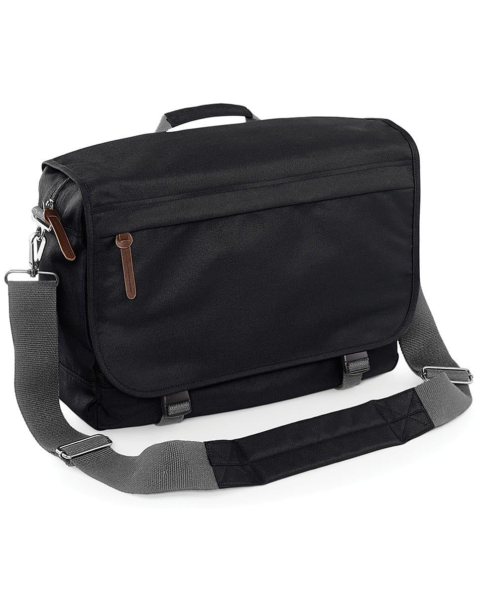Bagbase Campus Laptop Messenger in Black (Product Code: BG261)