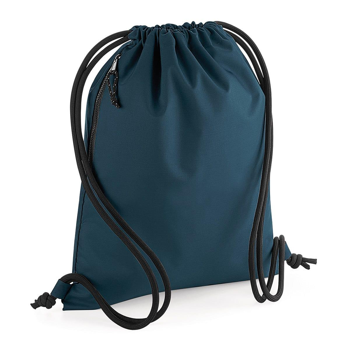 Bagbase Recycled Gymsac in Petrol (Product Code: BG281)