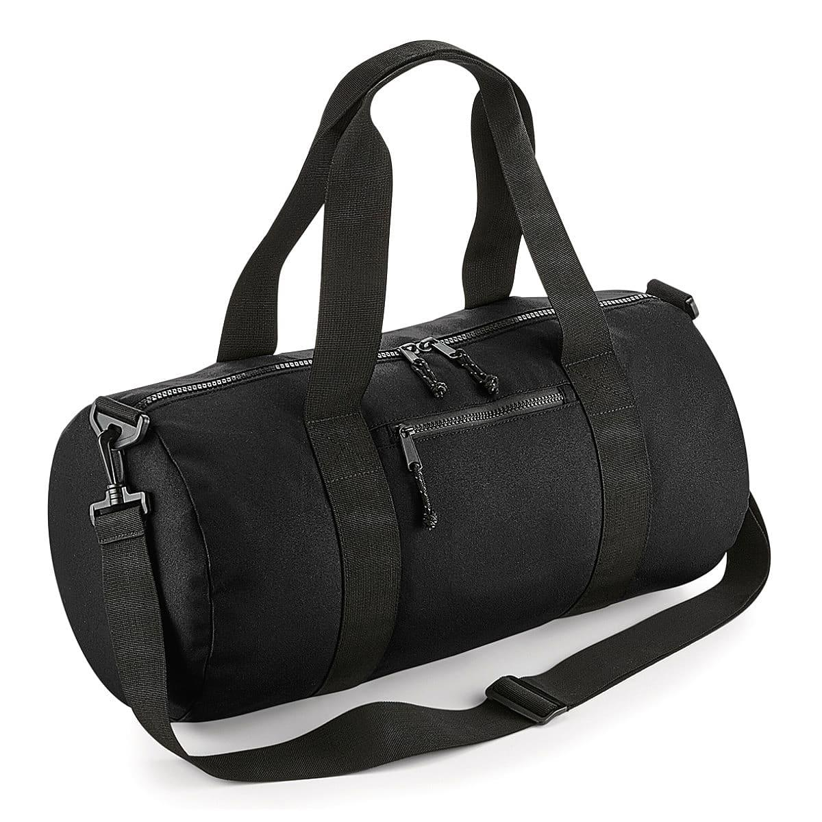 Bagbase Recycled Barrel Bag in Black (Product Code: BG284)