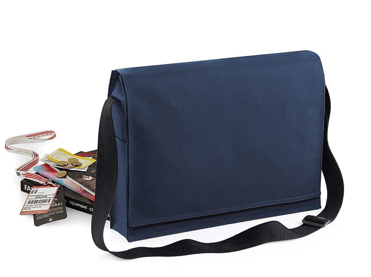 Bagbase Conference Messenger in French Navy (Product Code: BG331)