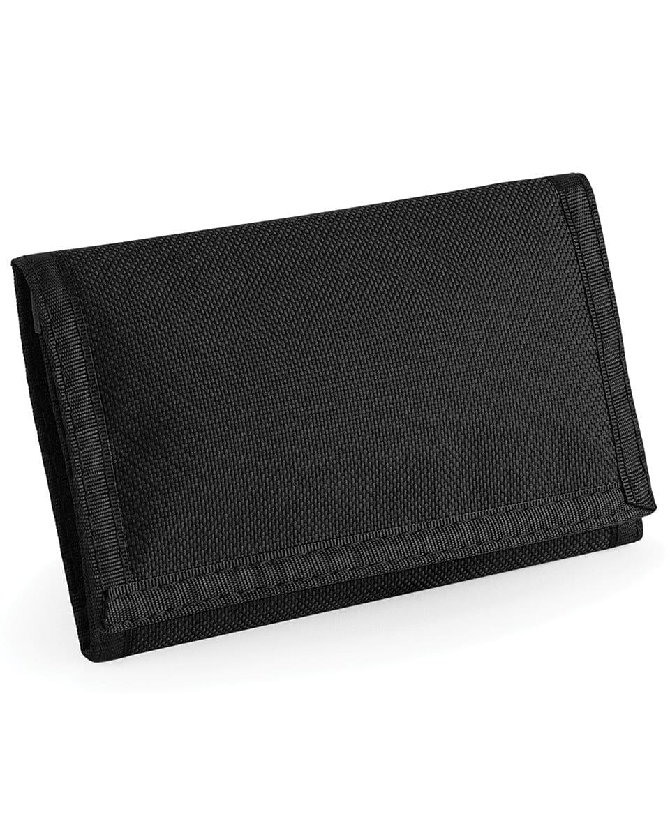 Bagbase Ripper Wallet in Black (Product Code: BG40)