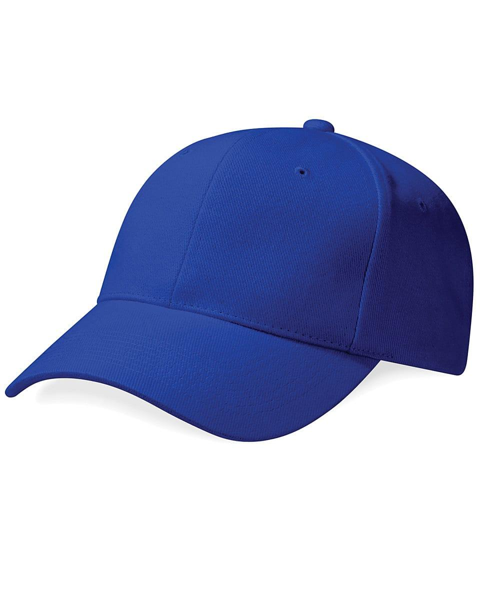 Beechfield Pro Style Heavy Cap in Bright Royal (Product Code: B65)