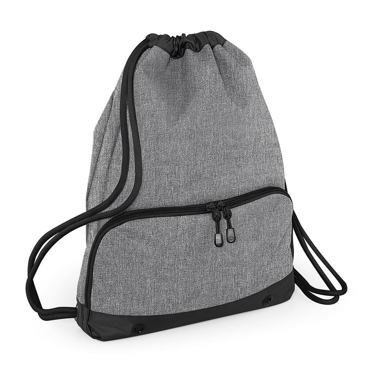 Bagbase Athleisure Gymsac in Grey Marl (Product Code: BG542)