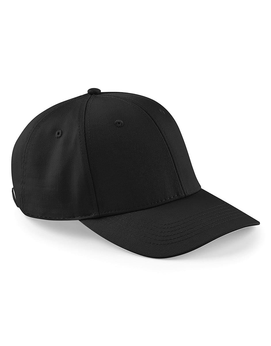 Beechfield Urbanwear 6 Panel Cap in Black (Product Code: B651)