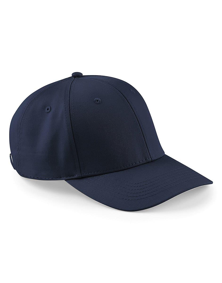 Beechfield Urbanwear 6 Panel Cap in Navy Blue (Product Code: B651)