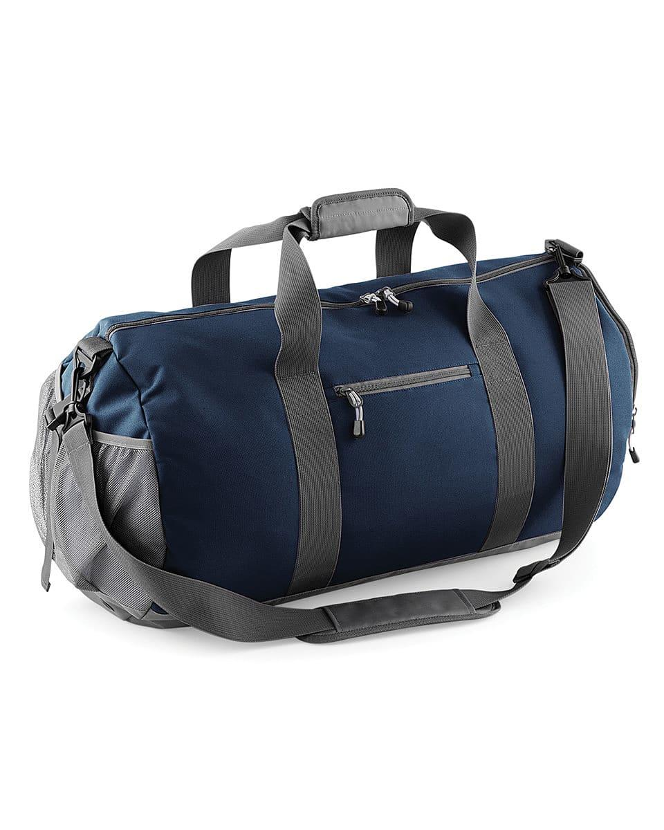 Bagbase Athleisure Kit Bag in French Navy (Product Code: BG546)