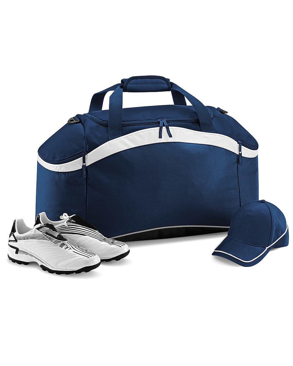 Bagbase Teamwear Holdall in French Navy / White (Product Code: BG572)