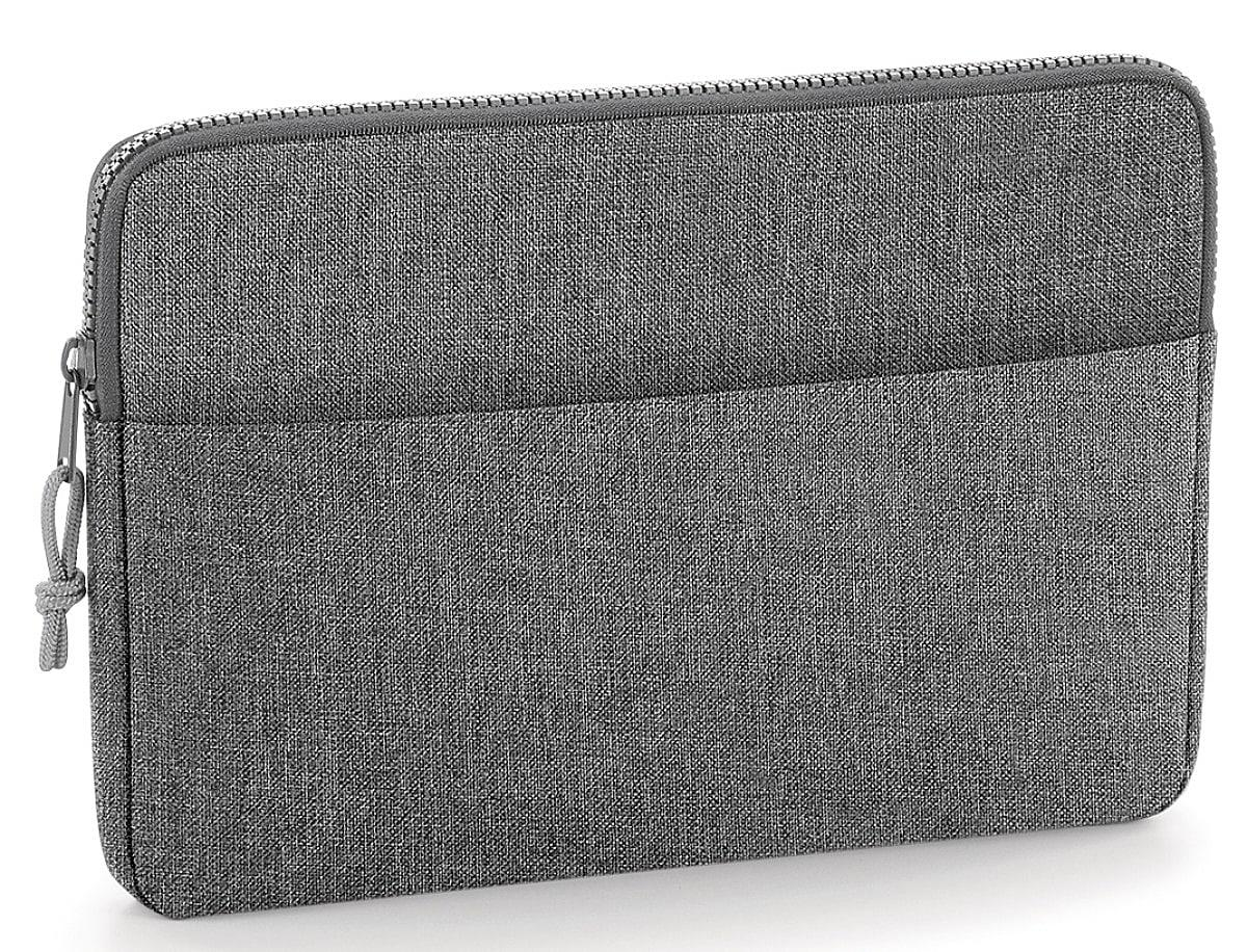 "Bagbase Essential 15"" Laptop Case in Grey Marl (Product Code: BG68)"