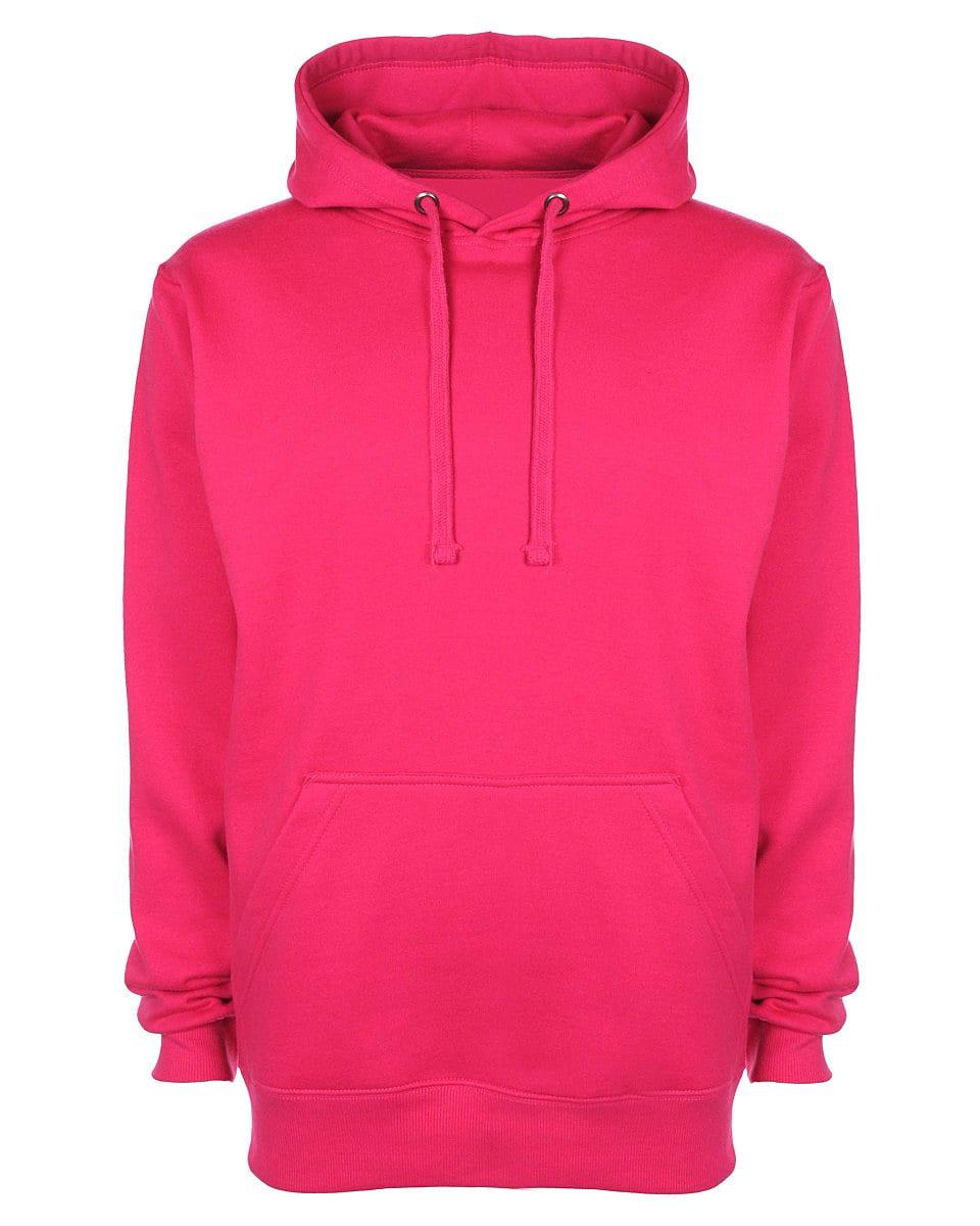 FDM Unisex Tagless Hoodie in Fuchsia (Product Code: TH001)