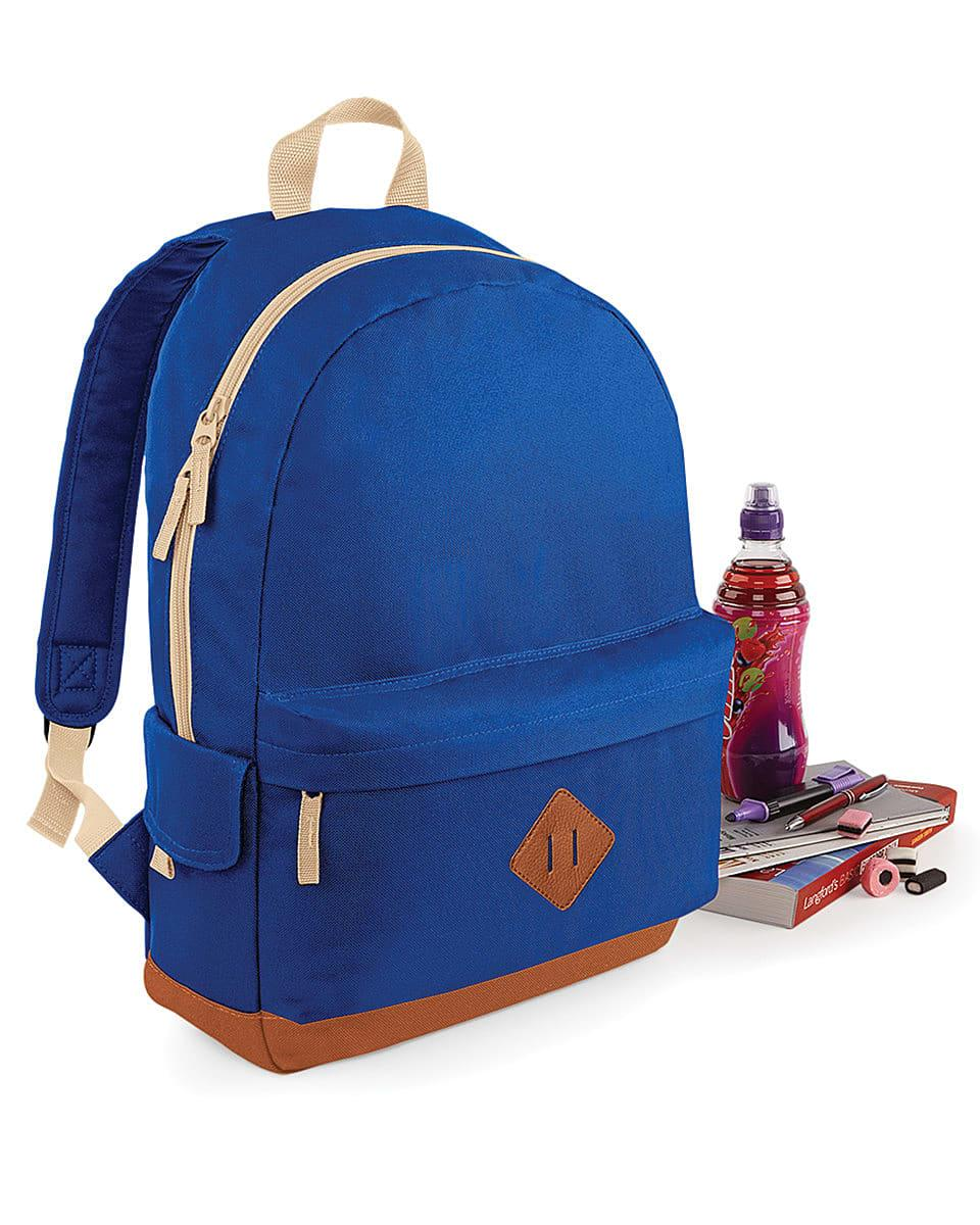 Bagbase Heritage Backpack in Bright Royal (Product Code: BG825)