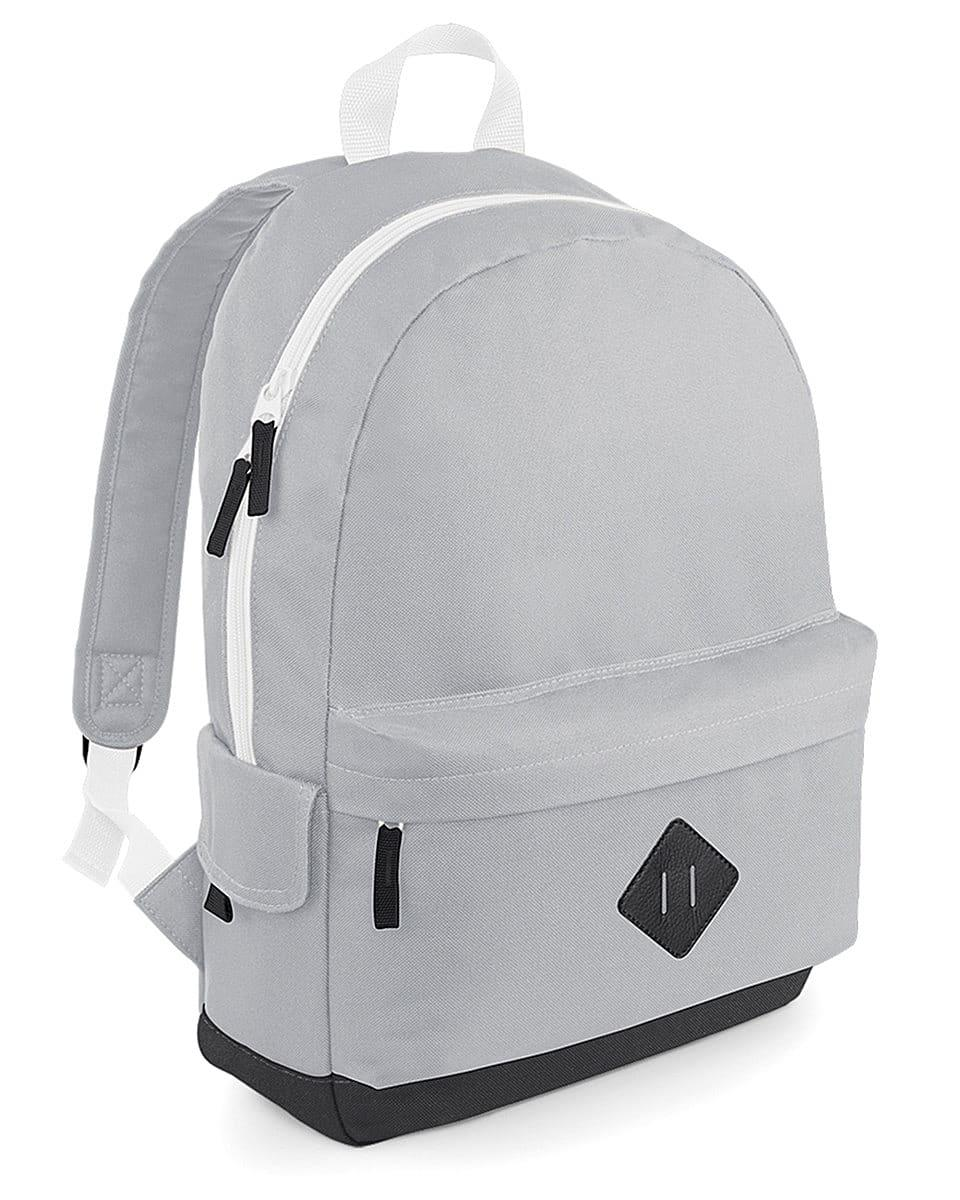Bagbase Heritage Backpack in Light Grey (Product Code: BG825)