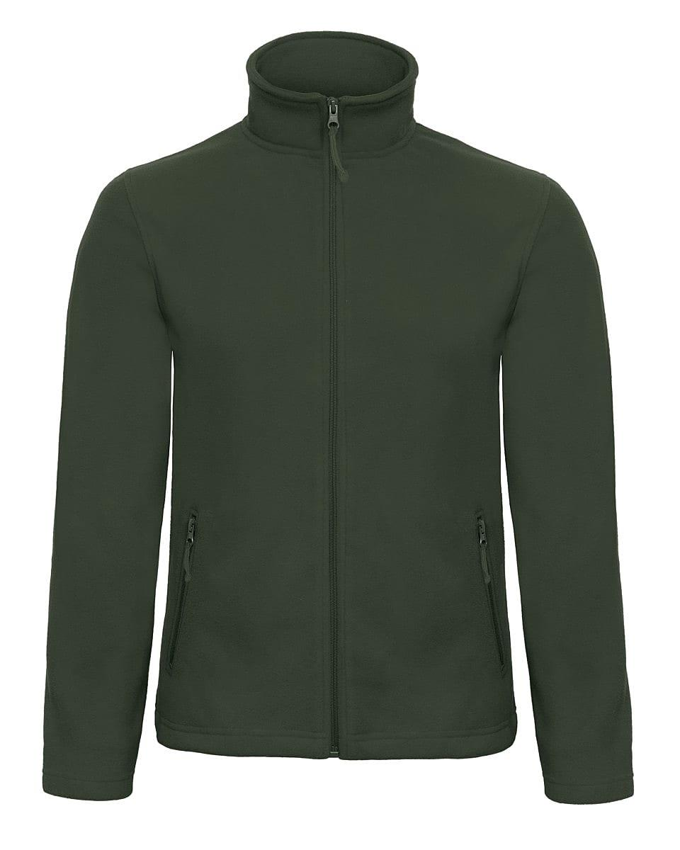 B&C Mens ID.501 Fleece Jacket in Forest Green (Product Code: FUI50)