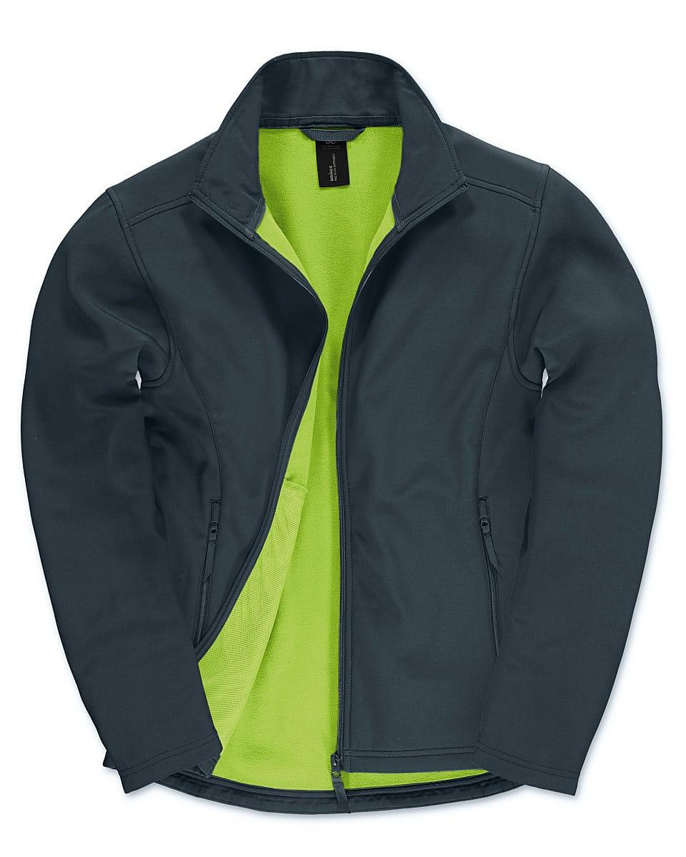 B&C Mens ID.701 Softshell Jacket in Navy Blue (Product Code: JUI62)