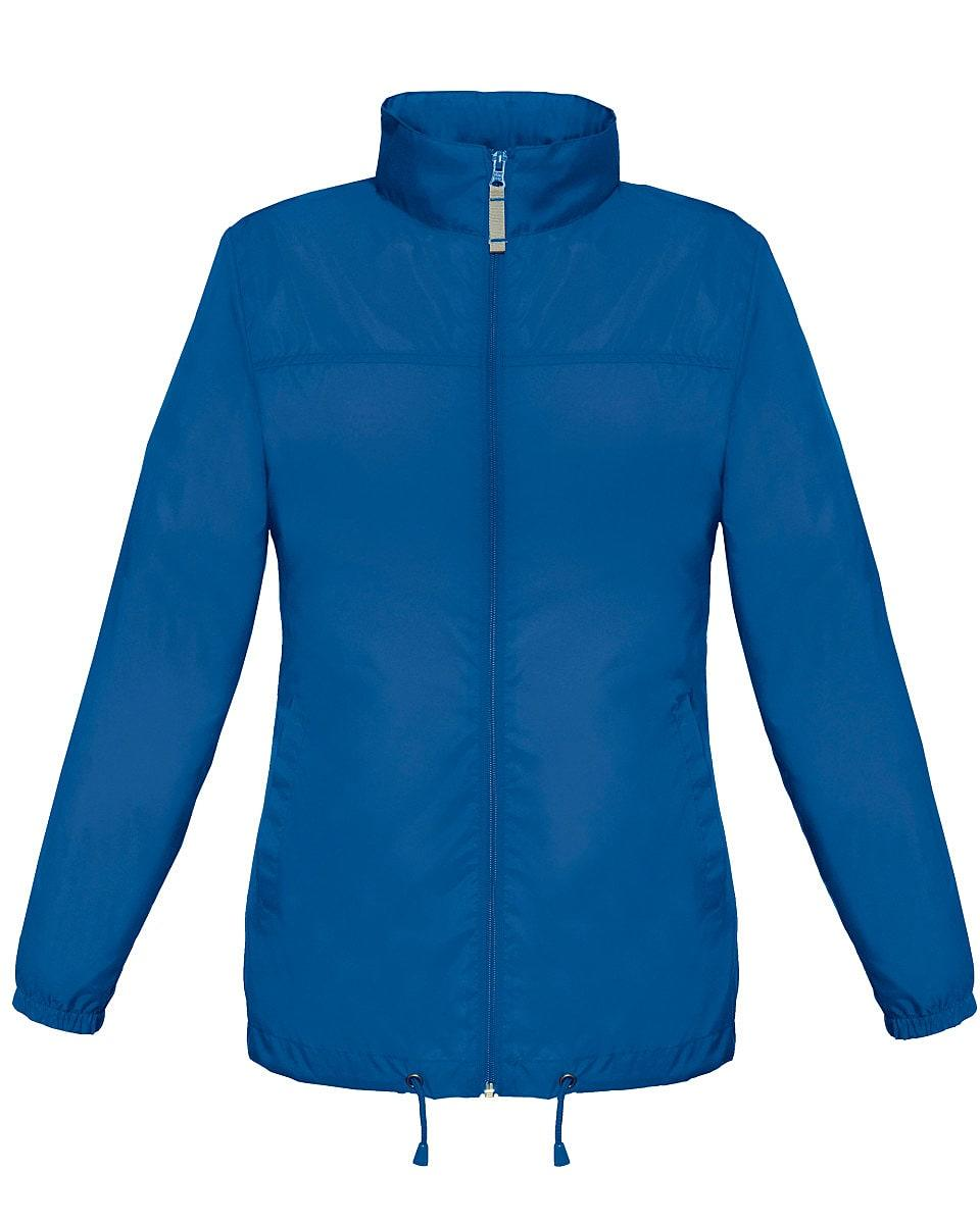 B&C Womens Sirocco Lightweight Jacket in Royal Blue (Product Code: JW902)