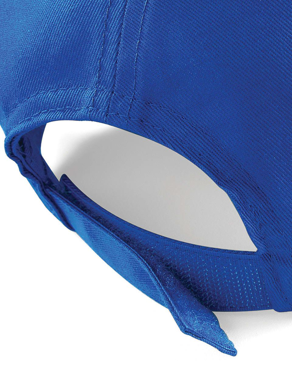 Beechfield Ultimate 5 Panel Cap in Bright Royal (Product Code: B15)