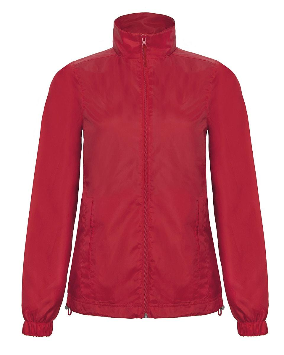 B&C Womens ID.601 Jacket in Red (Product Code: JWI61)