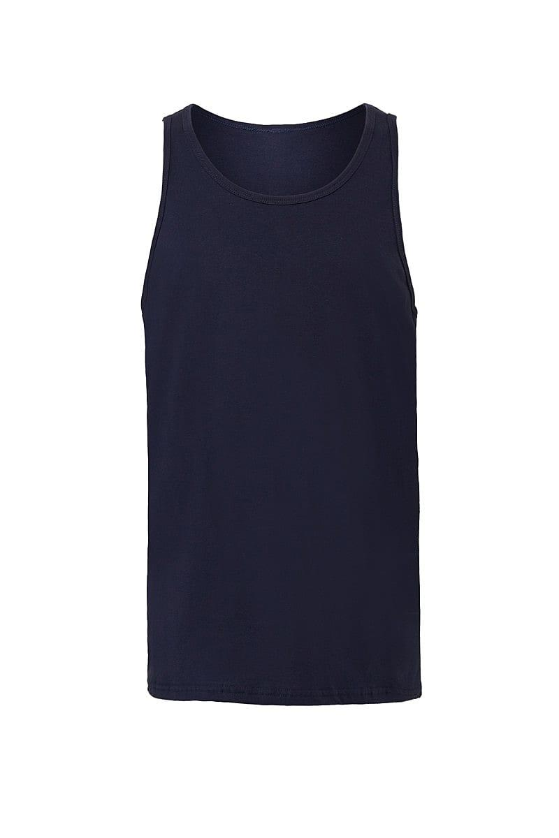 Bella Unisex Jersey Tank in Navy Blue (Product Code: CA3480)