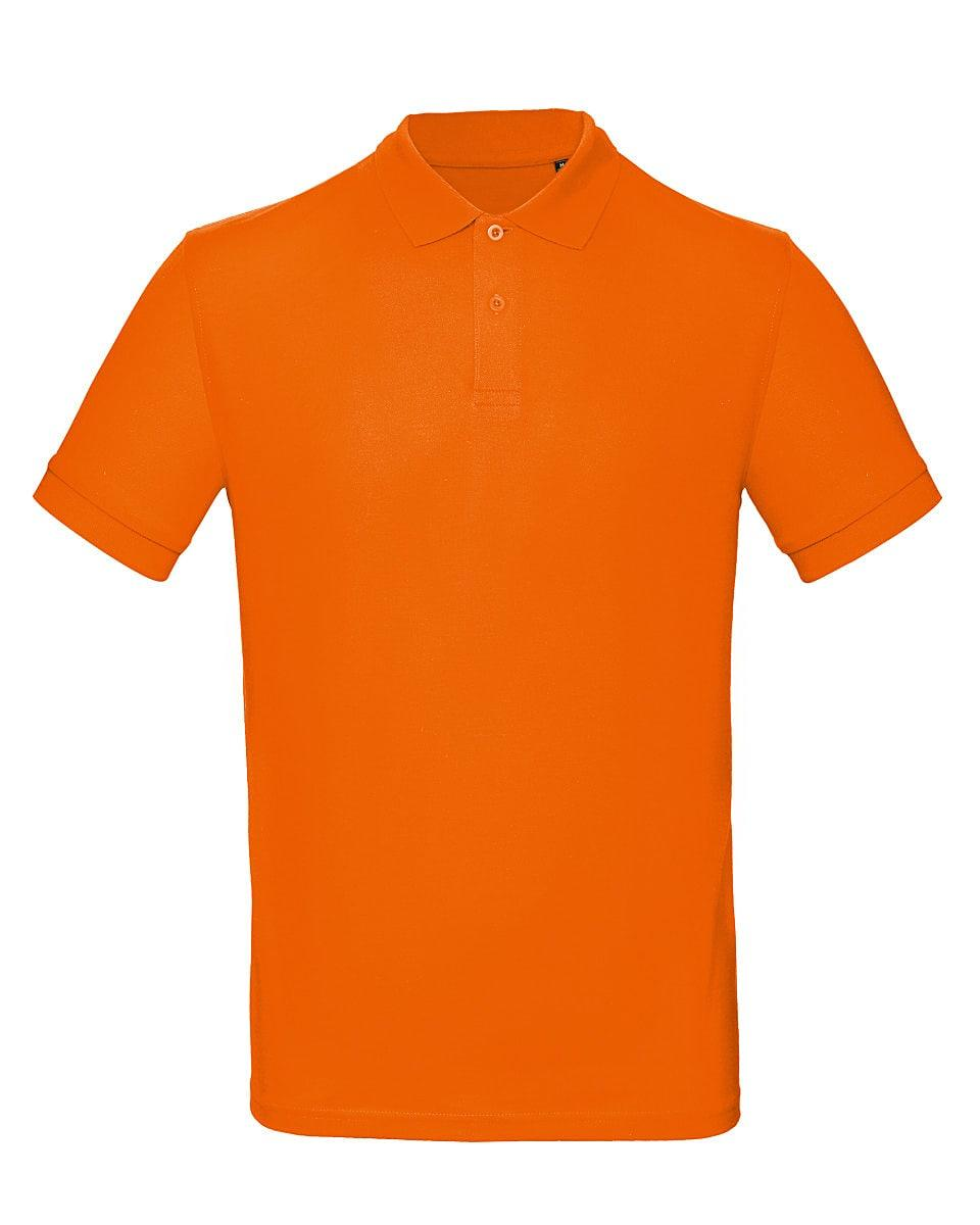 B&C Mens Inspire Polo Shirt in Orange (Product Code: PM430)