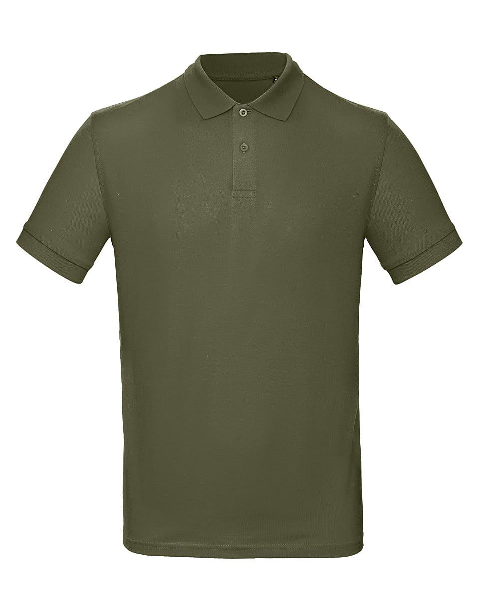 B&C Mens Inspire Polo Shirt in Urban Khaki (Product Code: PM430)