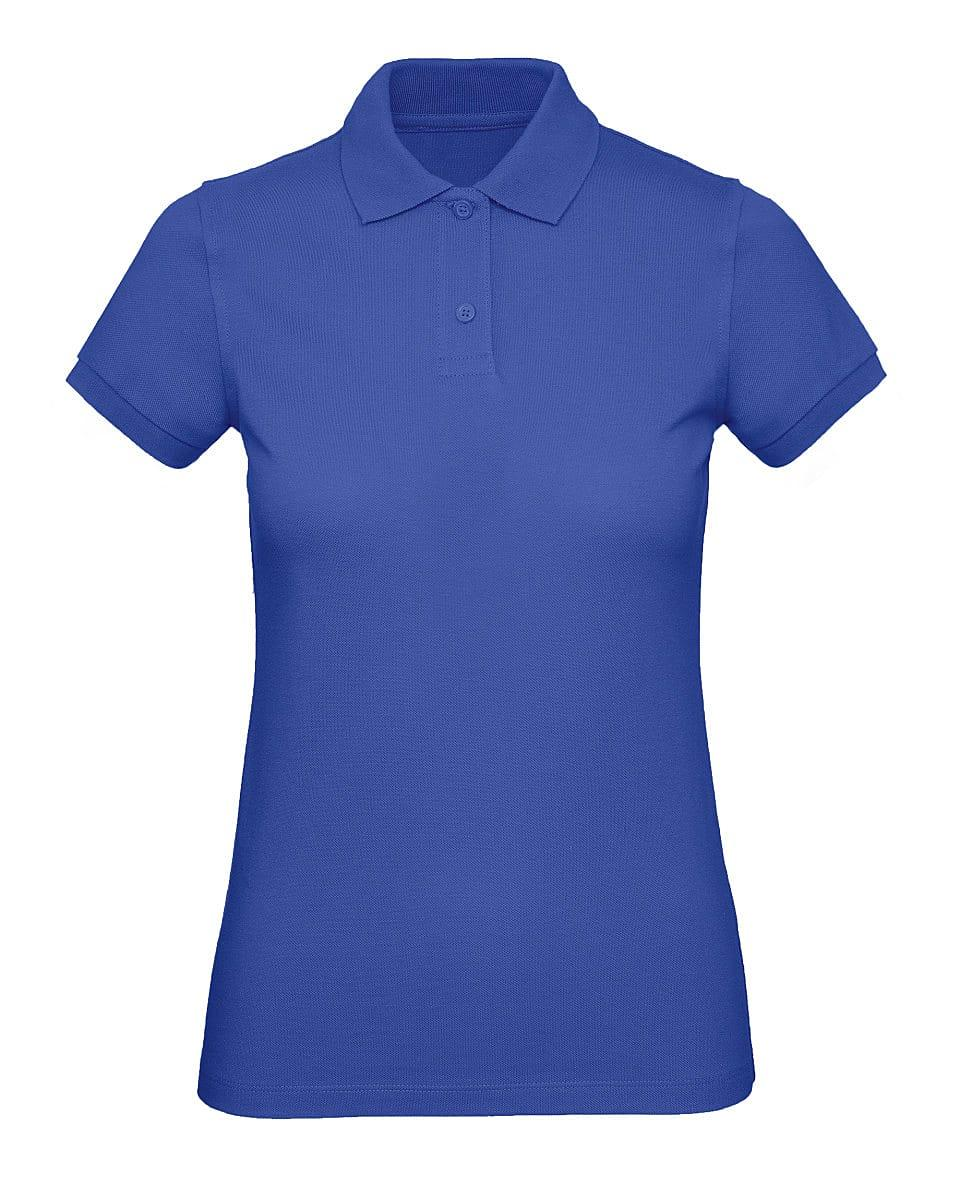 B&C Womens Inspire Polo Shirt in Cobalt Blue (Product Code: PW440)