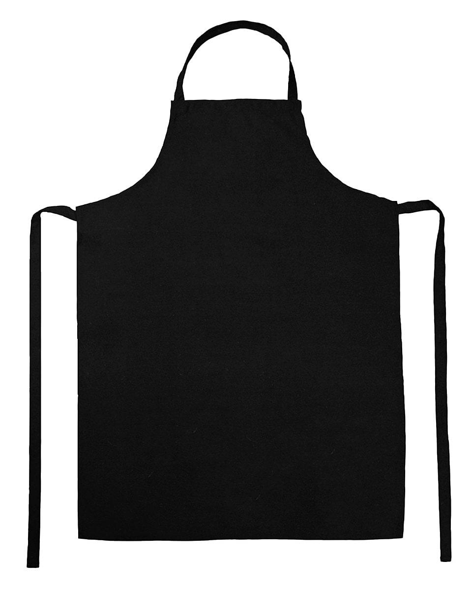 Jassz Bistro Paris Bib Apron in Black (Product Code: JG21)