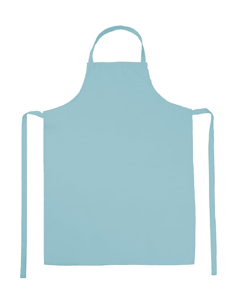 Jassz Bistro Paris Bib Apron in Sky Blue (Product Code: JG21)