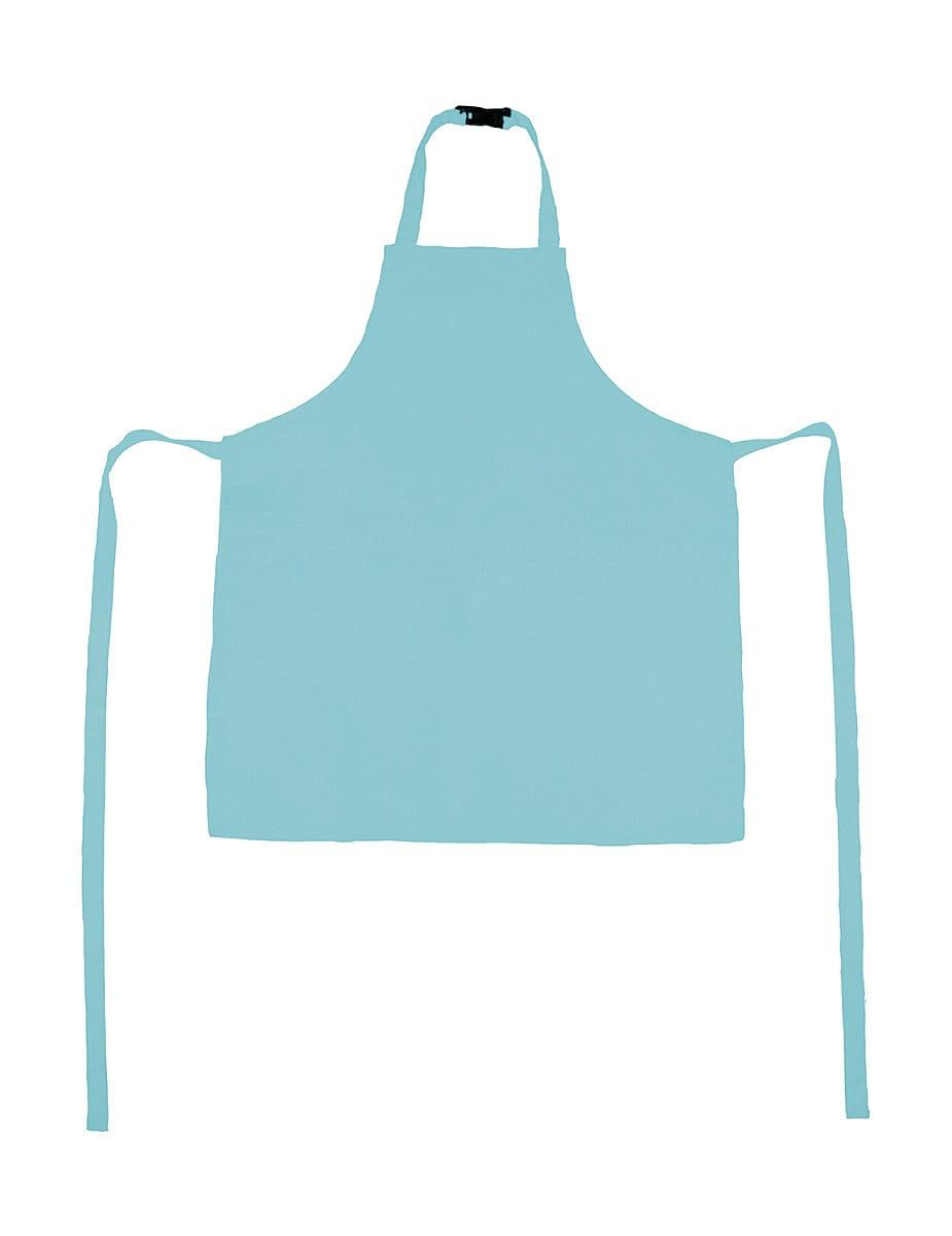 Jassz Bistro Childrens Vienna Apron in Sky Blue (Product Code: JG21K)